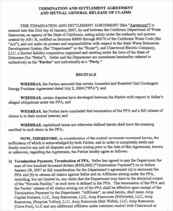 Construction Contract Termination Letter Awesome Sample Contract Termination Agreement 11 Examples In Word Pdf Google Docs Apple Pages