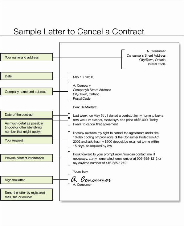 Construction Contract Termination Letter Inspirational 36 Examples Of Termination Letters