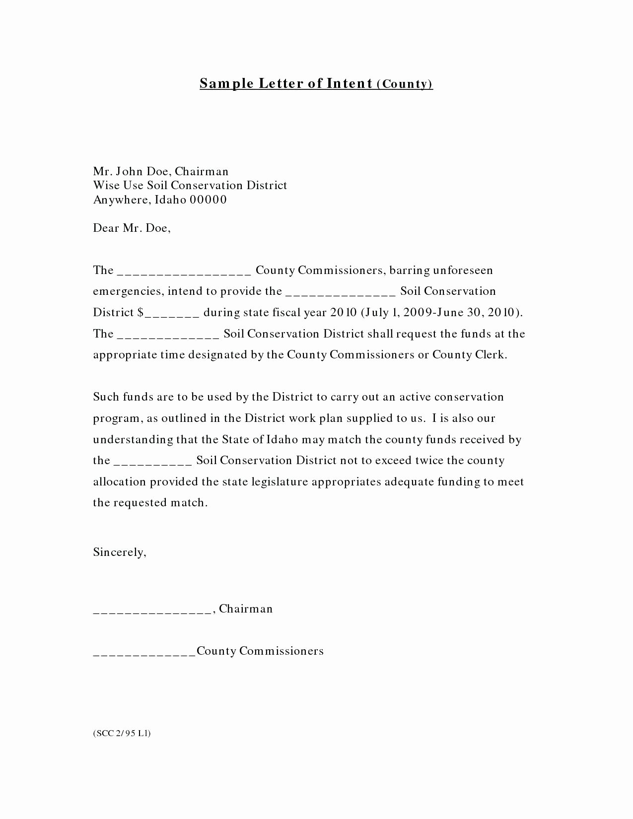 Construction Letter Of Intent Template Unique Subcontractor Letter Intent Template Samples