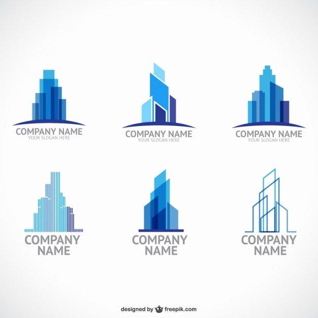 Construction Logos Free Download Beautiful Construction Pany Logo Templates Vector