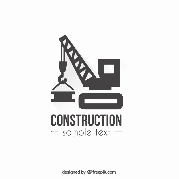 Construction Logos Free Download Best Of Construction Logo Template Vector