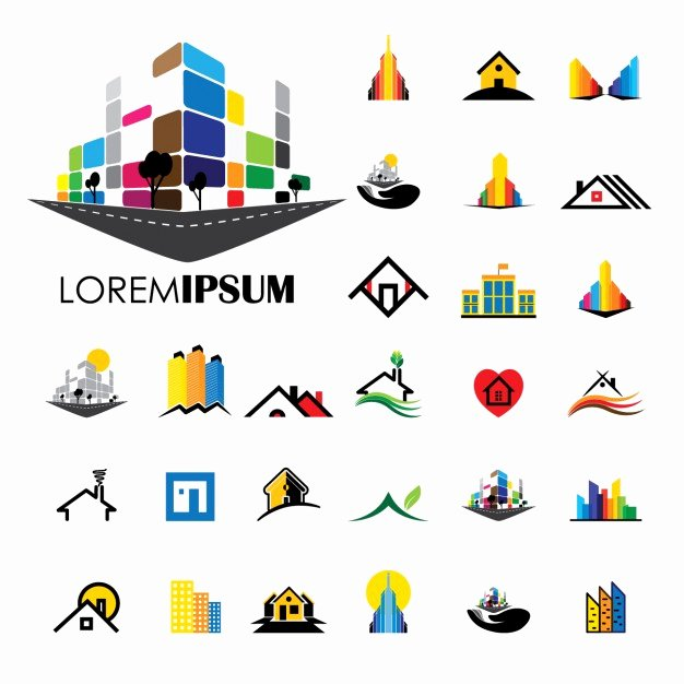 Construction Logos Free Download Best Of Construction Logos Collection Vector