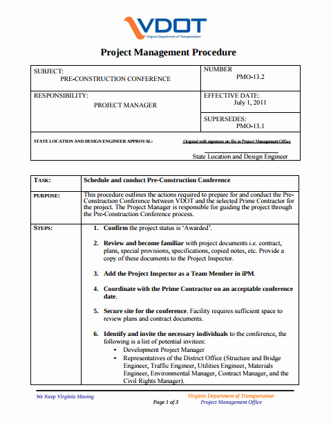 Construction Meeting Agenda Template Awesome 8 Pre Construction Meeting Templates Pdf