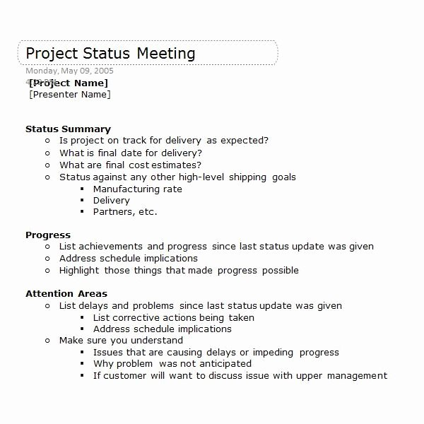 Construction Meeting Agenda Template Inspirational Enote Templates to Help Your Projects Run Smoothly