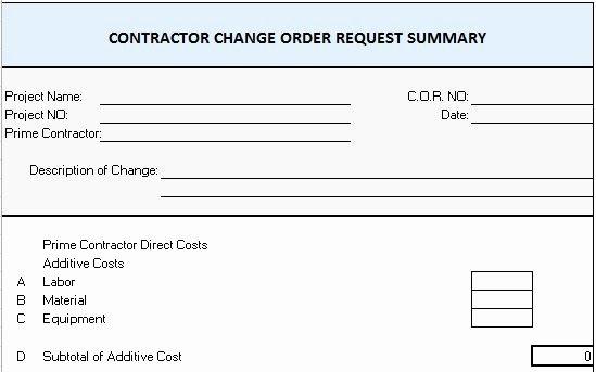 Construction Purchase order Template New Excel Template