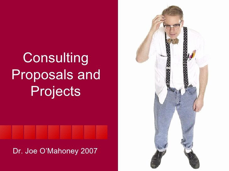 Consulting Proposal Template Mckinsey Elegant Management Consultancy Proposals