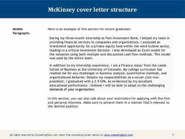 Consulting Proposal Template Mckinsey Elegant Mckinsey Cover Letter Sample
