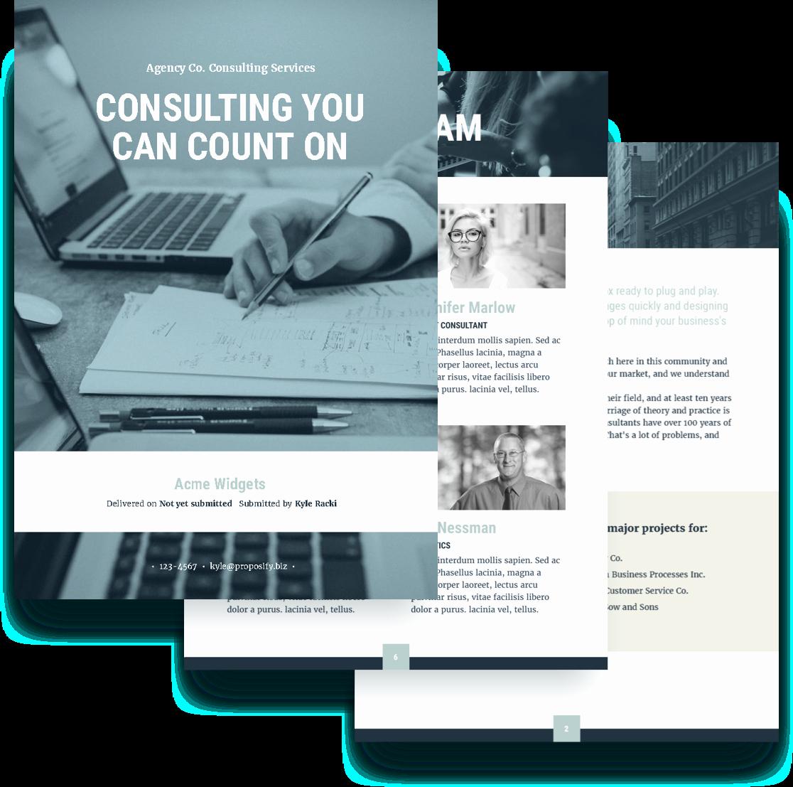 Consulting Proposal Template Mckinsey Elegant software Consulting Proposal Template