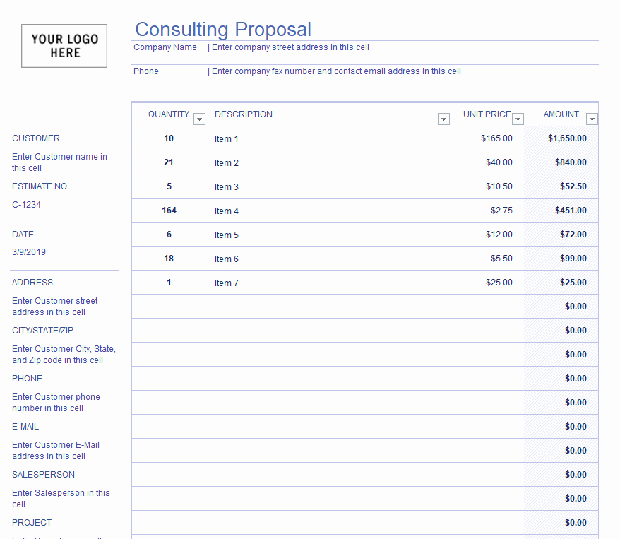 Consulting Proposal Template Mckinsey Fresh 10 Plus Free Consulting Proposal Template Calypso Tree