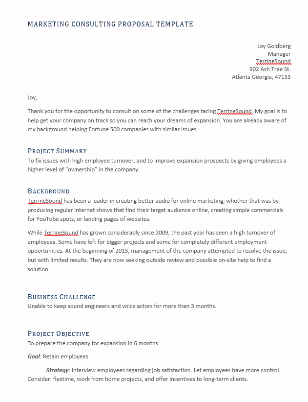 Consulting Proposal Template Mckinsey Inspirational 10 Plus Free Consulting Proposal Template Calypso Tree