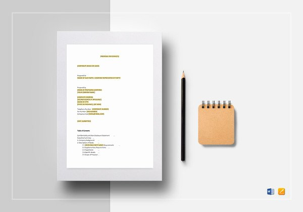 Consulting Proposal Template Mckinsey Lovely Consulting Proposal Template 18 Free Word Pdf format