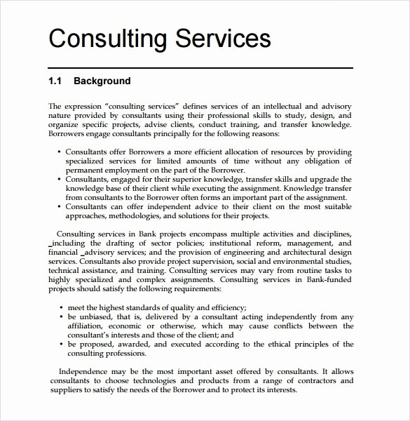 Consulting Proposal Template Mckinsey Luxury Consulting Proposal Template Mckinsey