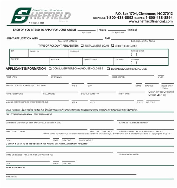 Consumer Credit Application form Best Of Credit Application Template 33 Examples In Pdf Word Google Docs Apple Pages