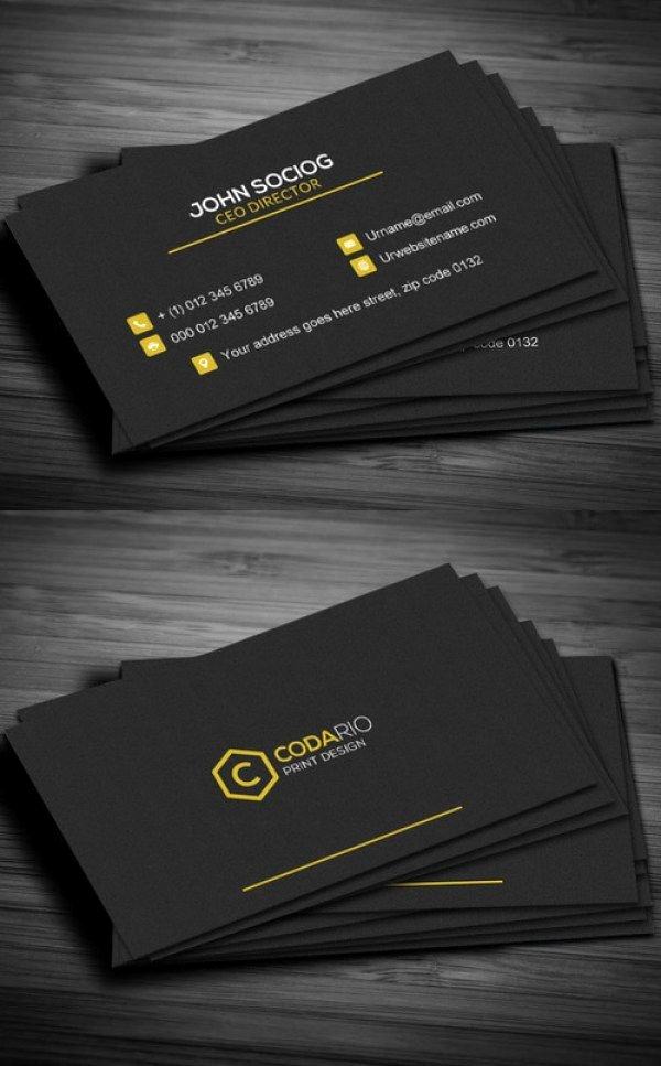 Contractors Business Cards Examples Beautiful 51 New Professional Business Card Psd Templates Construction Business Card …