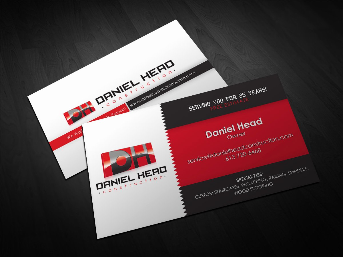 Contractors Business Cards Examples Inspirational Construction Business Cards Business Card Tips
