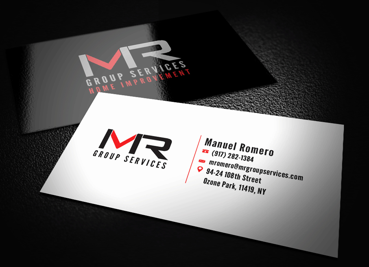 Contractors Business Cards Examples Unique Elegant Playful Construction Business Card Design for Mr Group Services by Riz