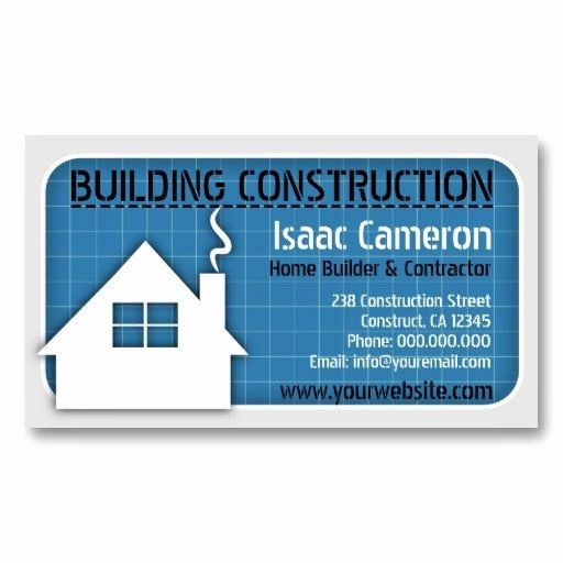 Contractors Business Cards Examples Unique Home Construction Business Cards
