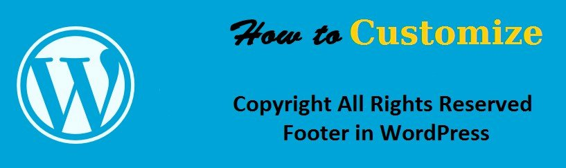 Copyright Statement for Music Best Of Customize Copyright All Rights Reserved Statement In Footer