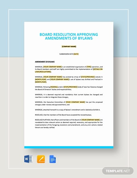 Corporate Resolution Template Microsoft Word Luxury Board Resolution Approving Acquisition Of Business assets Template Download 129 Planning and