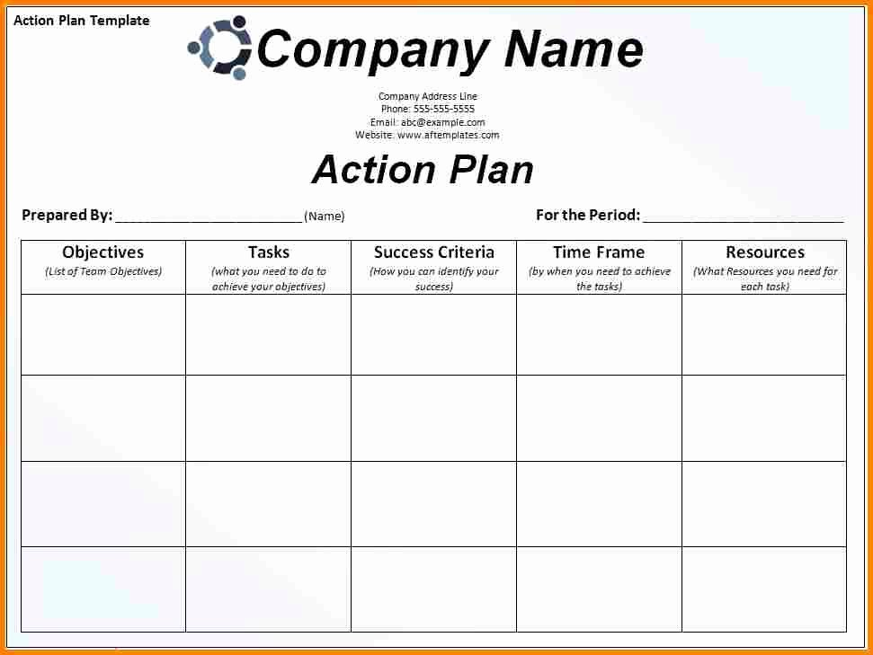 Corrective Action Plan Template Excel Elegant 11 Corrective Action Plan Template Excel