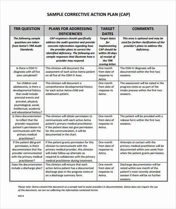 Corrective Action Plan Template Word New Quotes About Corrective Action 33 Quotes