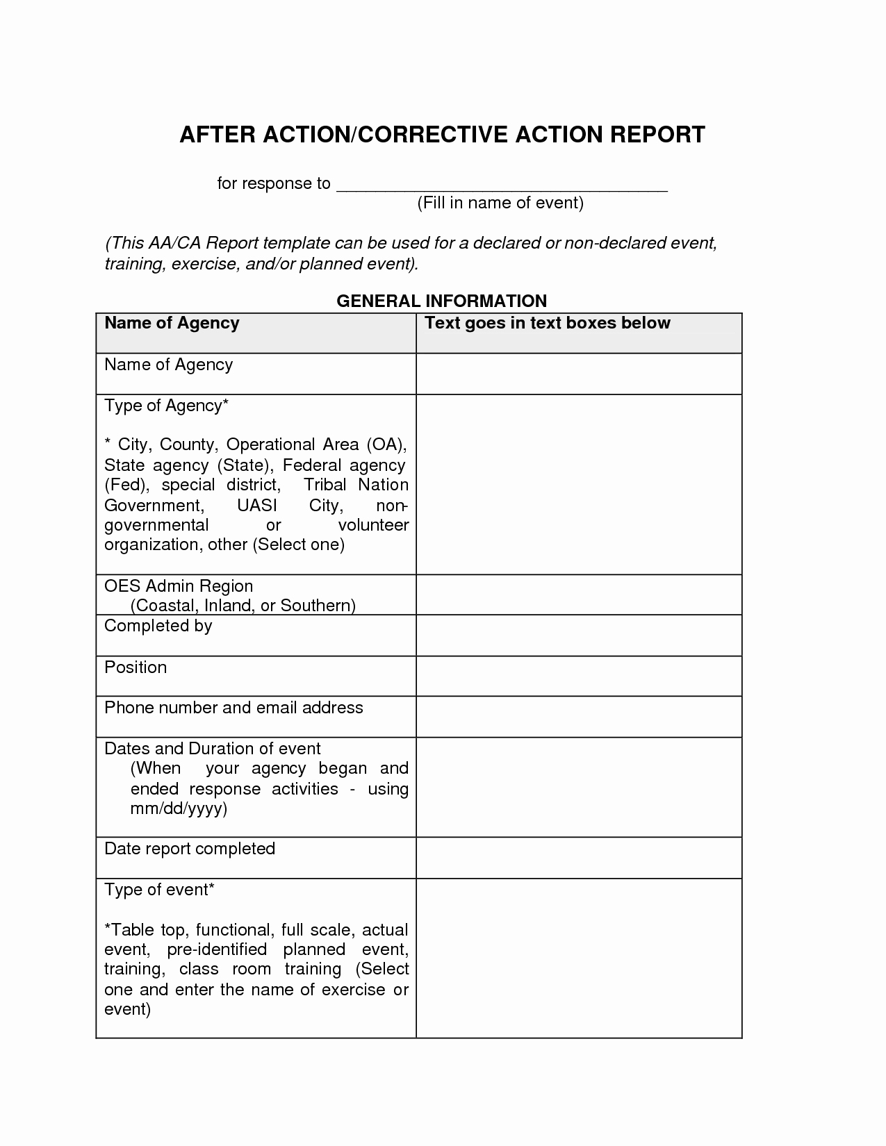 8d corrective action report template excel