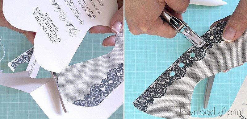 Corset Invitation Template Free Inspirational Diy Lace Up Corset Invitation