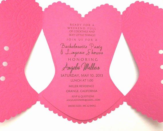 Corset Invitation Template Free New 10 Best S Of Corset Wedding Invitations Bridal