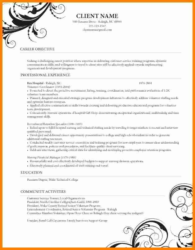 Cosmetology Resume Templates Free Best Of 5 Cosmetology Resume Templates Free