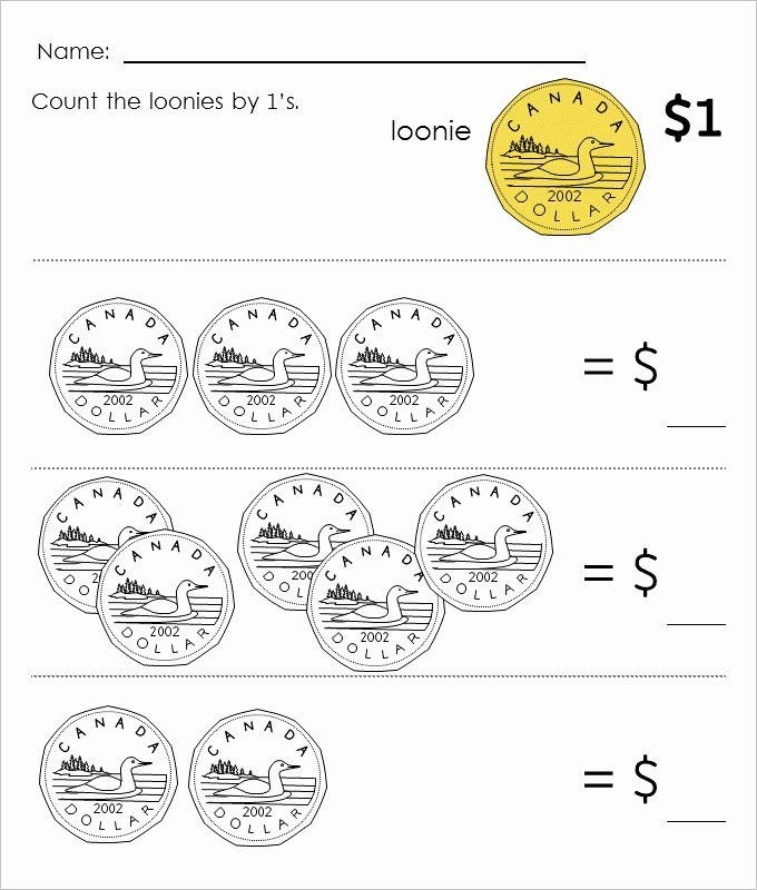 Counting Money Worksheets Pdf Lovely 27 Sample Counting Money Worksheet Templates Free Pdf Documents Download