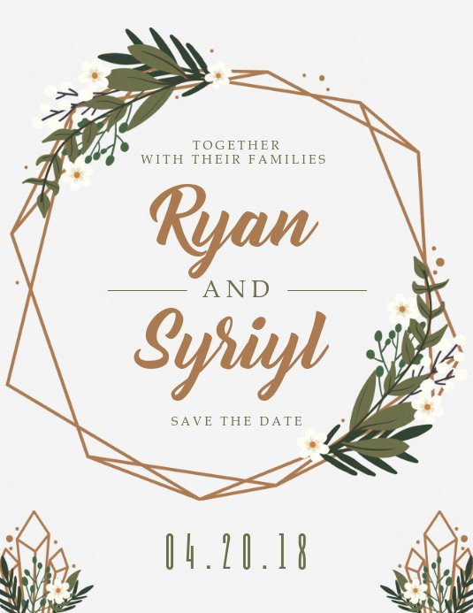Country Wedding Invitations Templates Free Best Of Customize 2 080 Wedding Templates