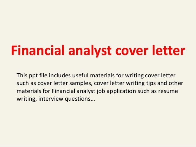 Cover Letter for Java Developer Fresh Financial Analyst Cover Letter
