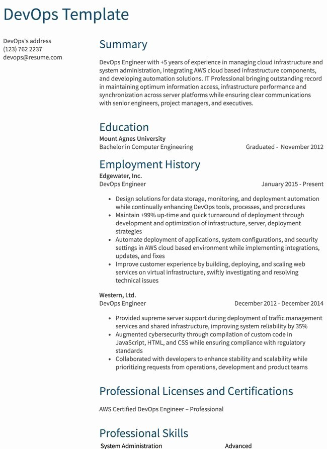 Cover Letter for Java Developer New Java Developer Resume Sample