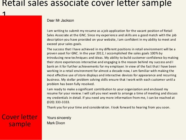 Cover Letter for Retail Fresh Wel E to Cdct