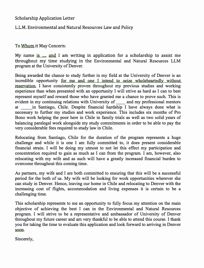 Cover Letter for Scholarship Luxury Pin by Ririn Nazza On Free Resume Sample