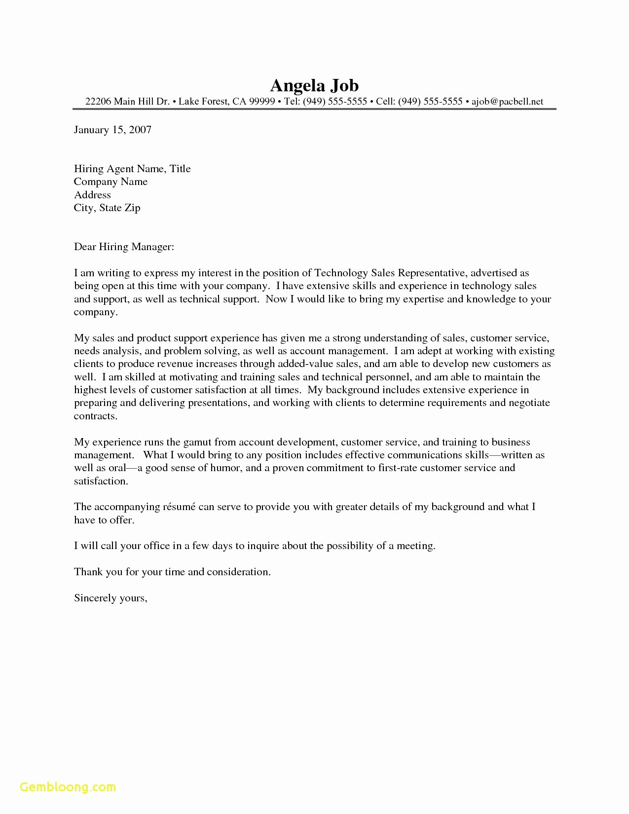Cover Letter for Substitute Teacher Lovely 14 Teacher Cover Letter
