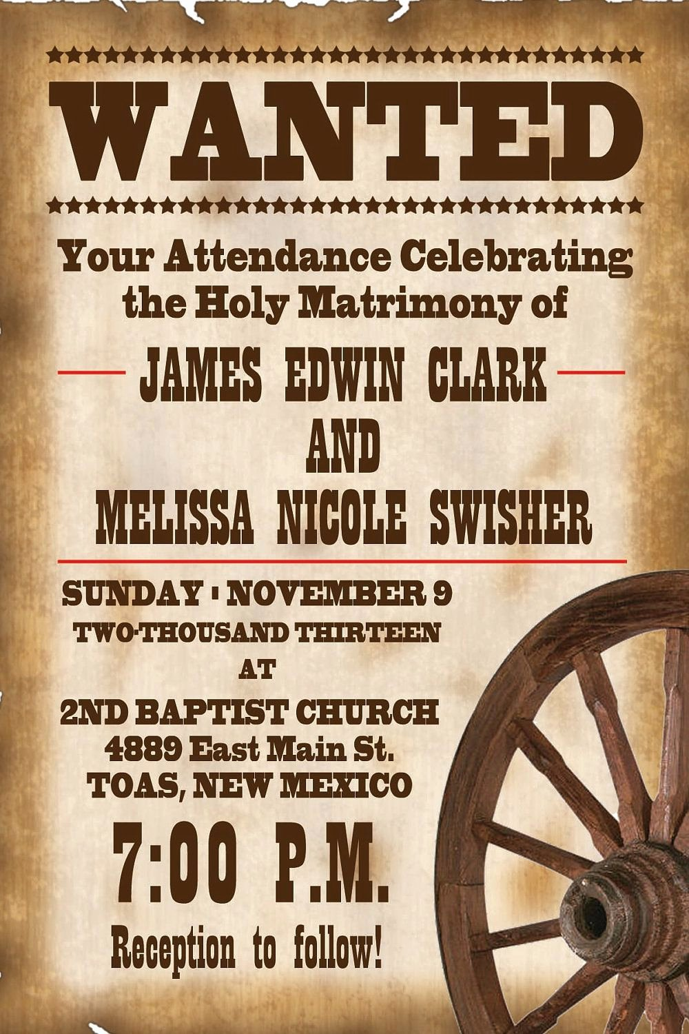 Cowboy Invitations Template Free Inspirational Rustic Wedding Invitation Wording Samples