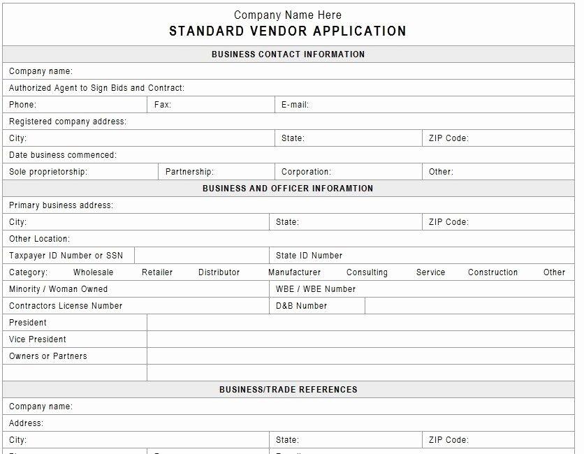 Craft Fair Vendor Application Template Awesome Vendor Application Template Vendors