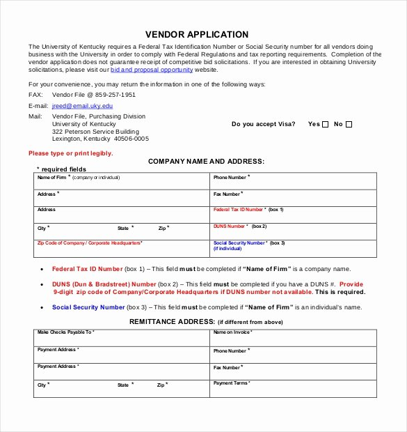 Craft Fair Vendor Application Template Best Of Vendor Application Template – 9 Free Word Pdf Documents Download