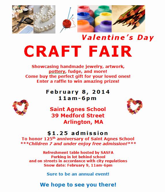 Craft Fair Vendor Application Template Unique Saint Agnes Catholic Church Saint Agnes Craft Fair Next Saturday