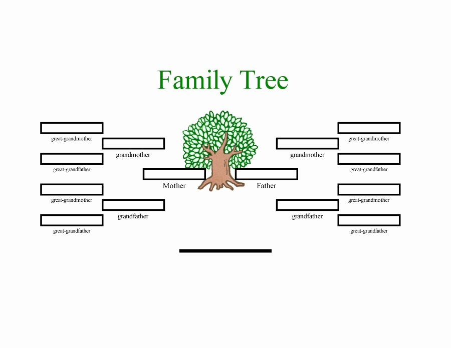 Create Family Tree In Word Beautiful Family Tree Template Word