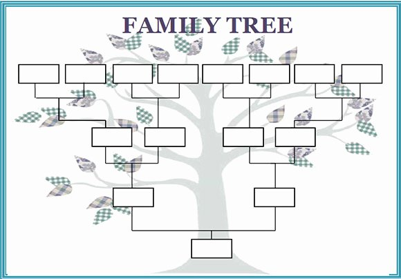 Create Family Tree In Word Fresh Family Tree Template Word