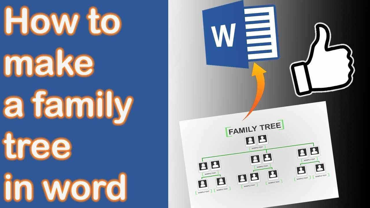 Create Family Tree In Word Luxury How to Make A Family Tree In Word 2013 [new Version In