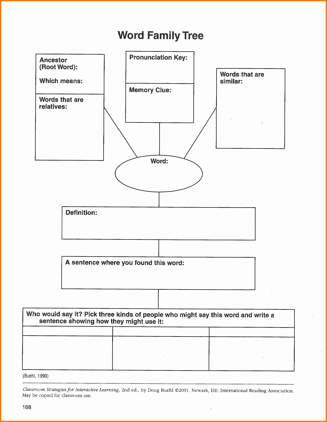 Create Family Tree In Word New Family Tree Word Template