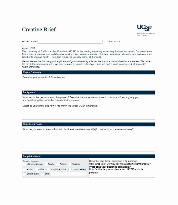 Creative Brief Sample Pdf New 40 Creative Brief Templates & Examples Template Lab