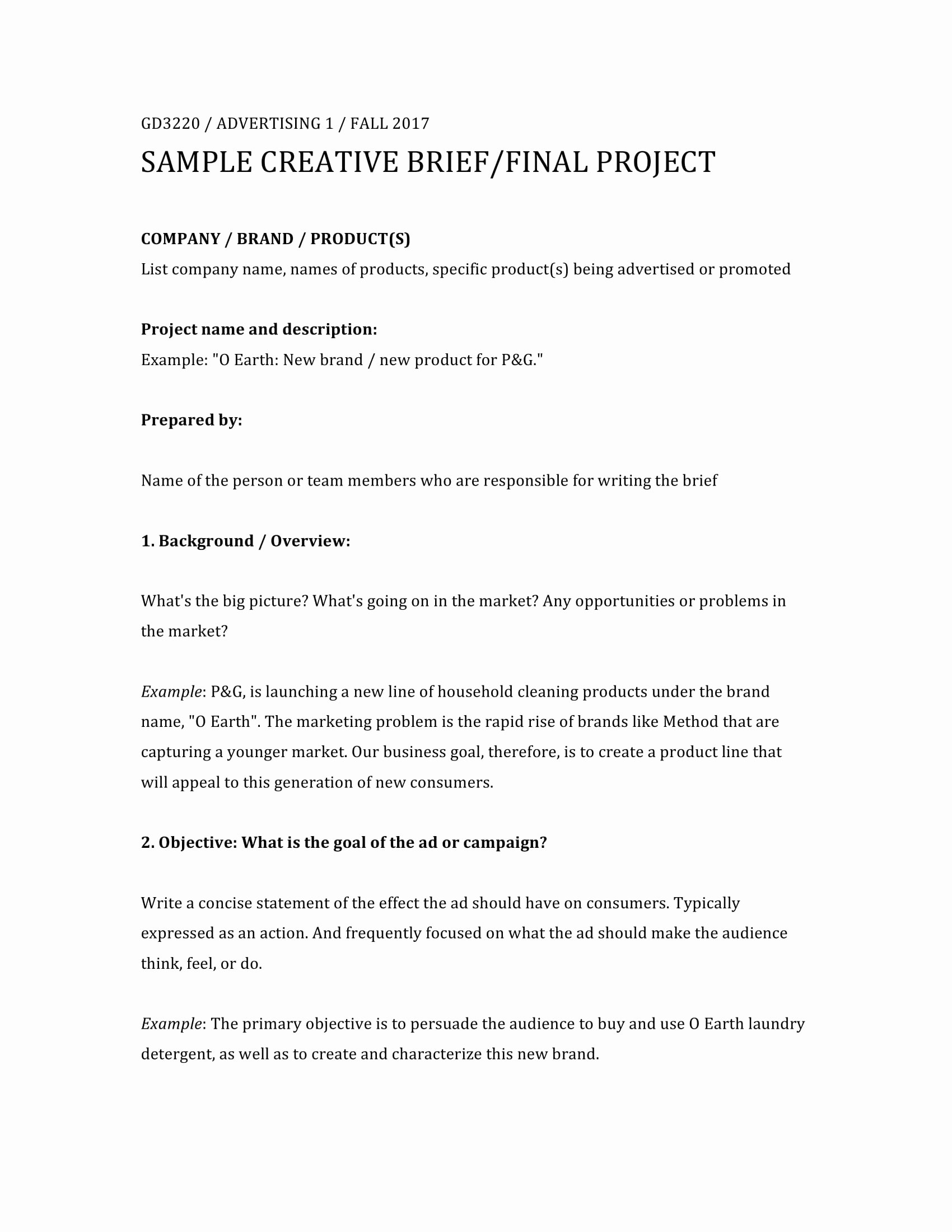 Creative Brief Sample Pdf Unique 32 Free Creative Brief Templates and Examples Pdf Doc