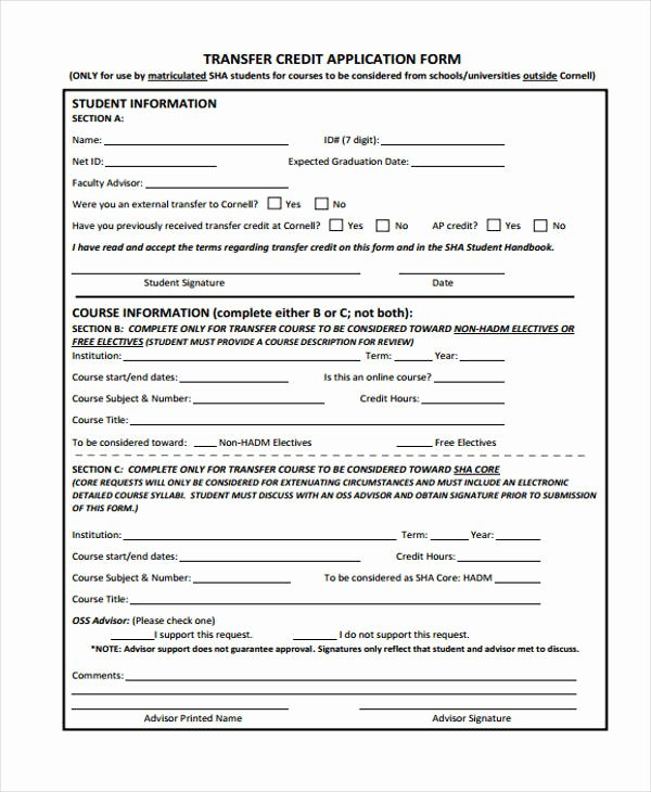 Credit Application form Pdf Inspirational 27 Sample Credit Application forms