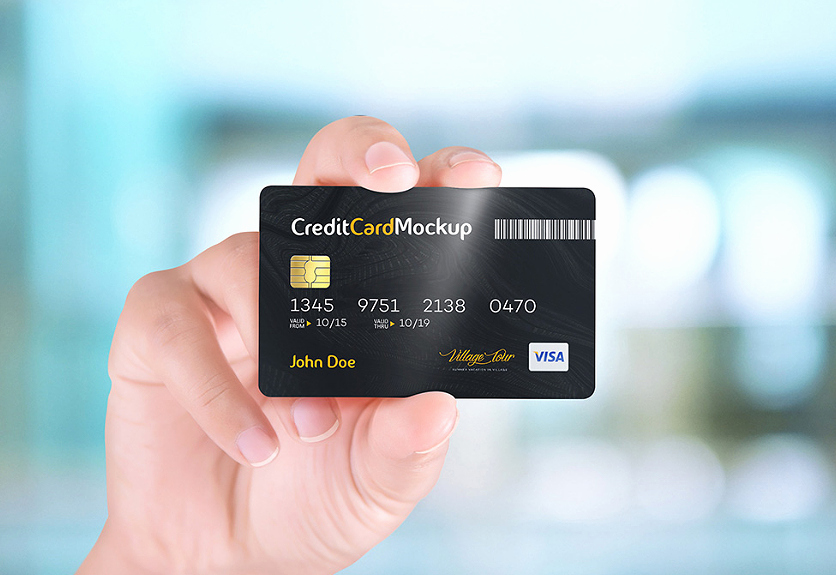 Credit Card Mockup Psd Awesome 40 Excellent Credit Card Psd Mockup Templates