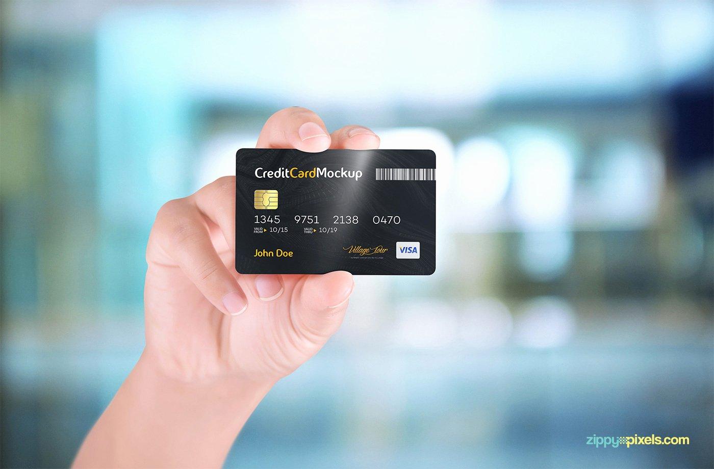 Credit Card Mockup Psd Beautiful 40 Excellent Credit Card Psd Mockup Templates