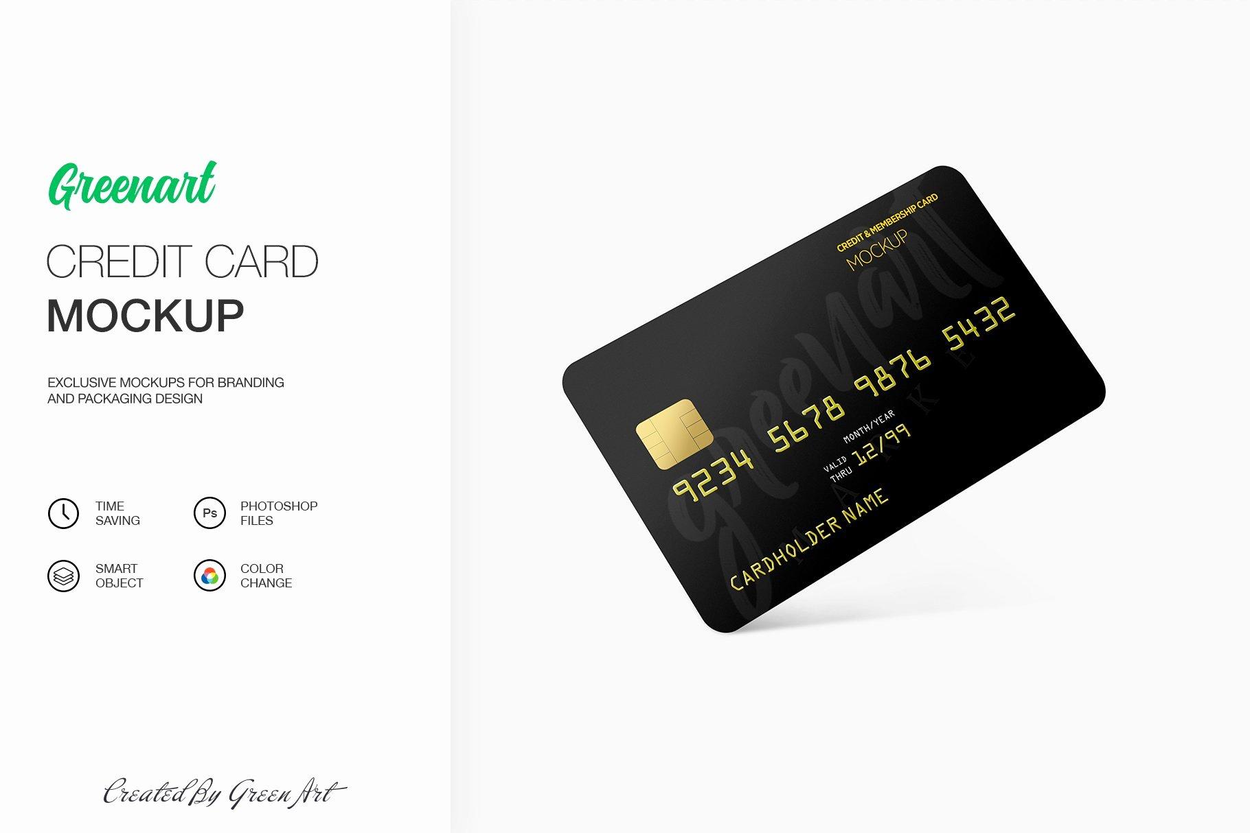 Credit Card Mockup Psd Best Of Credit Card Mockup Mockup Templates Creative Market